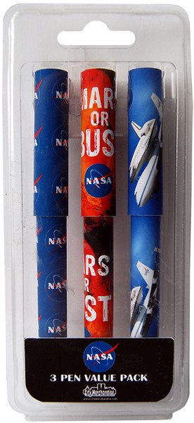 NASA 3 Pen Pack