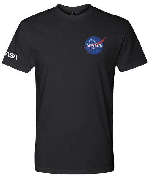 NASA Meatball Logo - Dual Logo Adult T-Shirt