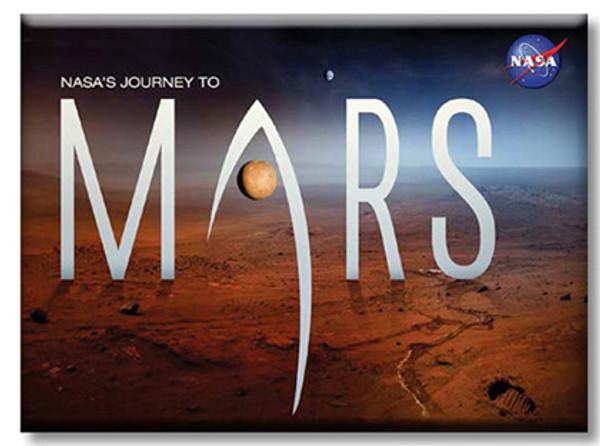 Journey To Mars Magnets Martian Landscape Magnet