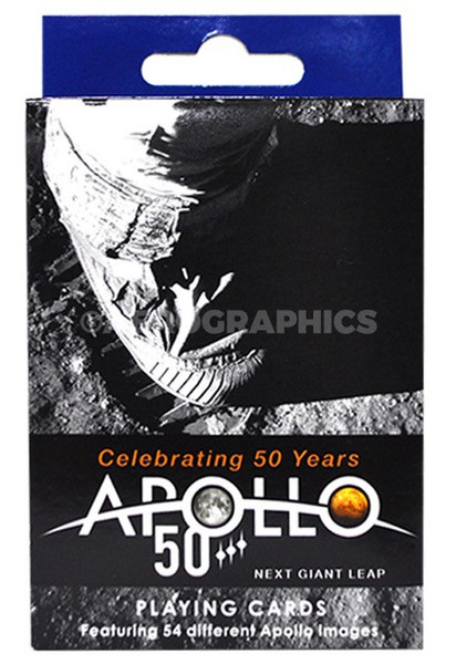 Apollo 50 Playing Cards