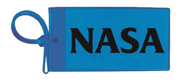 Nasa Luggage Tag - Blue