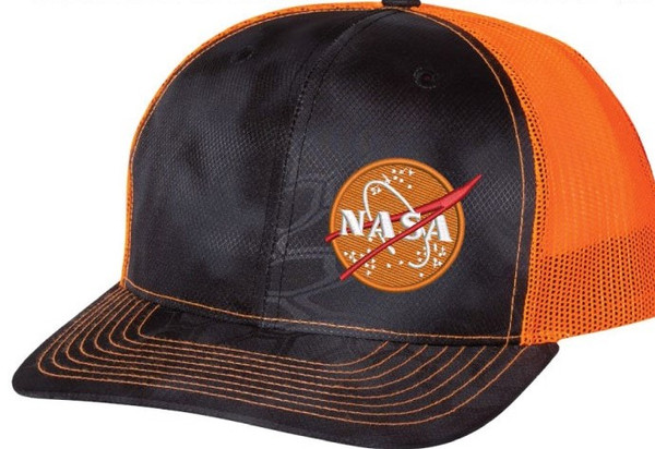 NASA Meatball Logo - Mars Orange Kryptek Hat