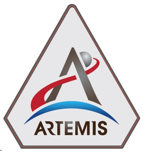 NASA Artemis Logo - 3 Inch Sticker