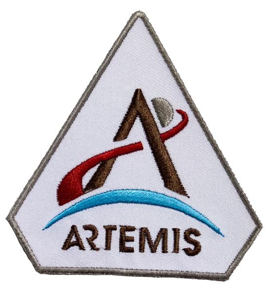 NASA Artemis Logo - Iron On Patch