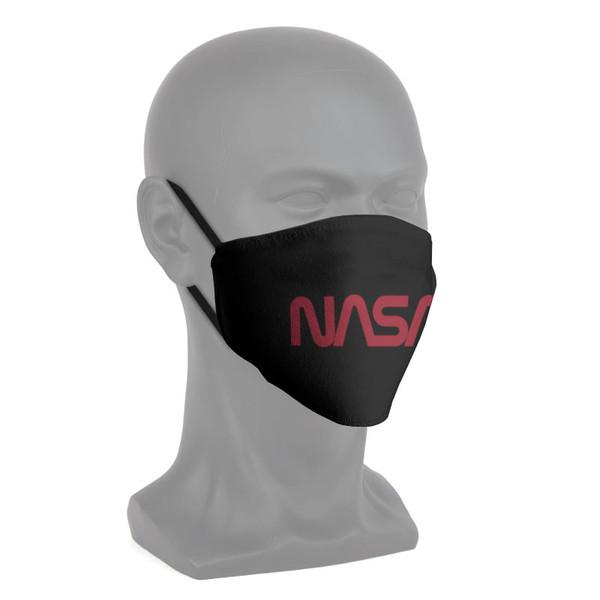 NASA Worm Logo - Fabric Face Mask 4 Pack