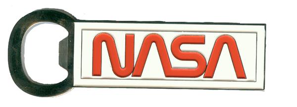 NASA Worm Logo - Magnetic Bottle Opener