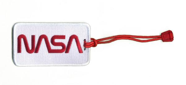 NASA Worm Logo - Woven Luggage Tag