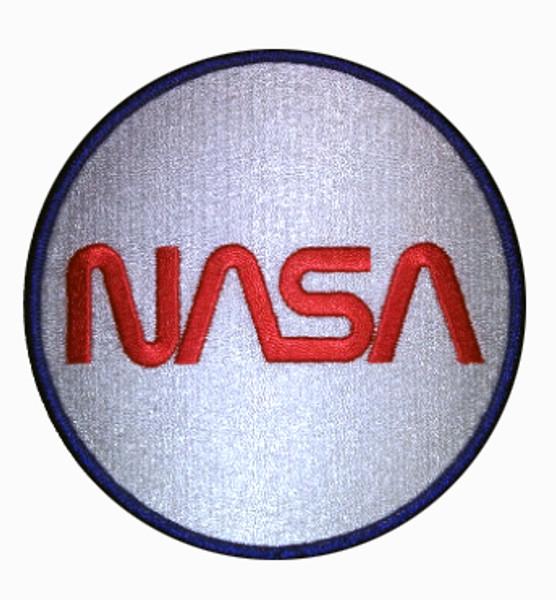 NASA Worm Logo - Embroidered Beverage Coasters