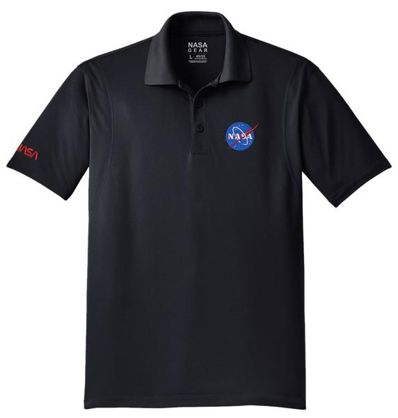 NASA Meatball Logo - Men's Polo Shirt