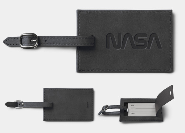NASA Worm Logo - Nuba Luggage Tag