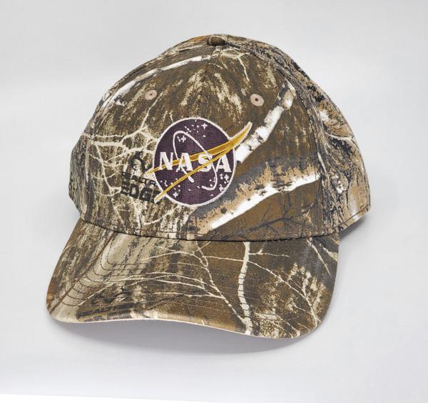 NASA Meatball Logo - Low Profile Camo Hat