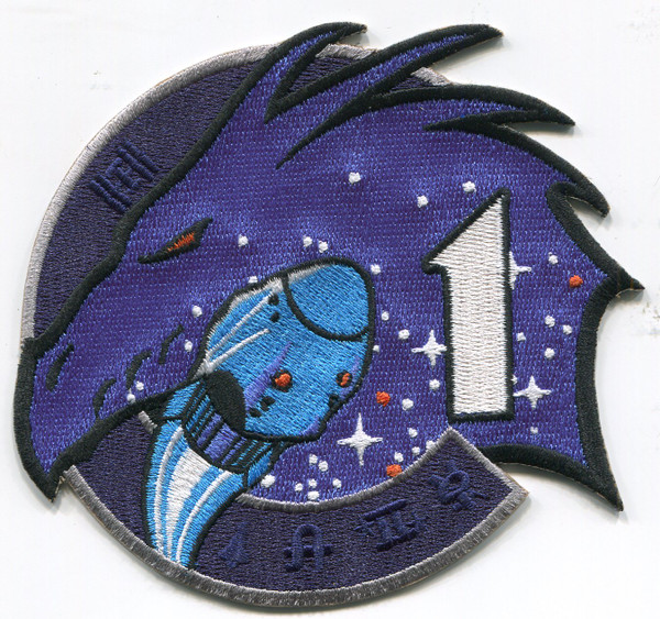 Crew 1 Mission Patch