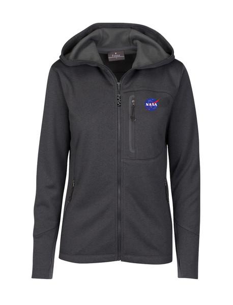 NASA Meatball Logo - Women's Mesa Hooded Jacket