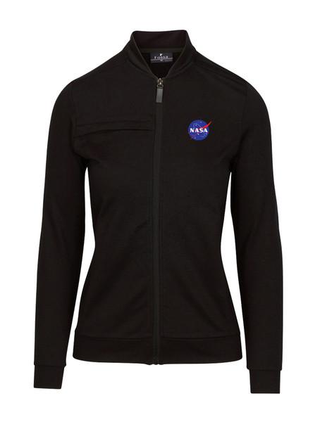 NASA Meatball Logo - Women's Morpheus Knit Fleece Jacket