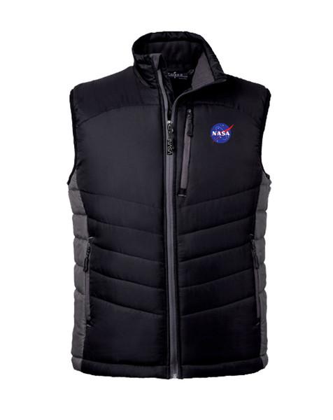 NASA Meatball Logo - Men's Cloud Puffer Vest