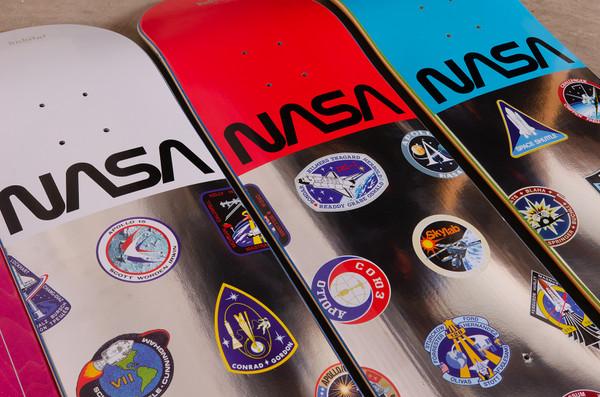 NASA Skateboard Decks by Habitat