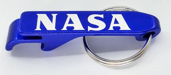 NASA Bottle Opener Keyfob