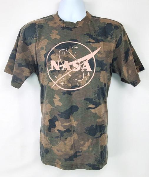 NASA Meatball Logo - Camo Tee