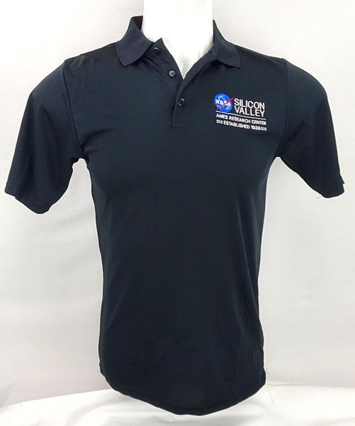 NASA Meatball Logo - Ames Research Center Polo