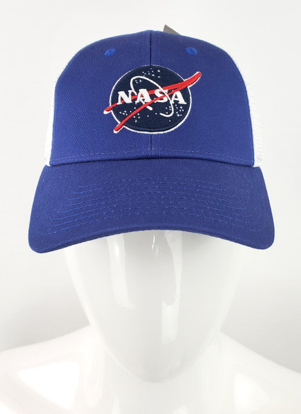 NASA Dual Logo Trucker Hat
