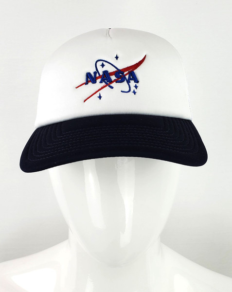 NASA Logo Foam Front Trucker Hat
