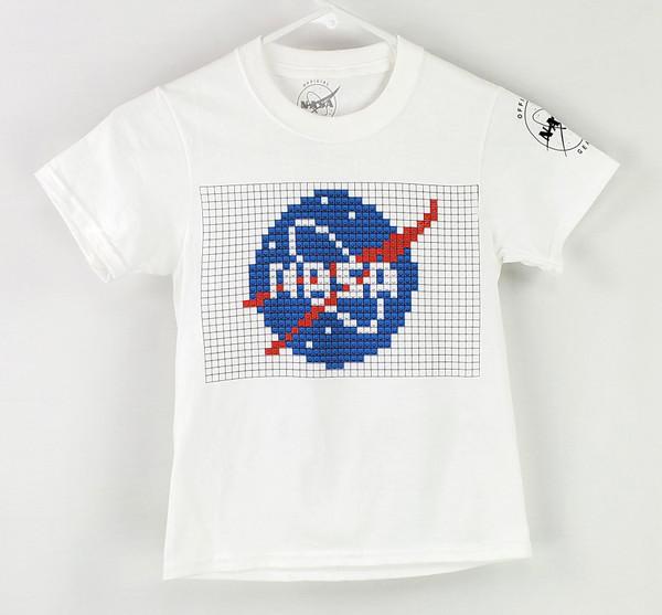 NASA Meatball Logo - Building Block Youth Tee Shirt