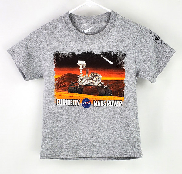 NASA Meatball Logo - Curiosity Mars Rover Youth Tee Shirt