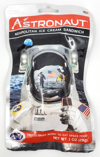 Ice Cream Sandwich - Astronaut Food