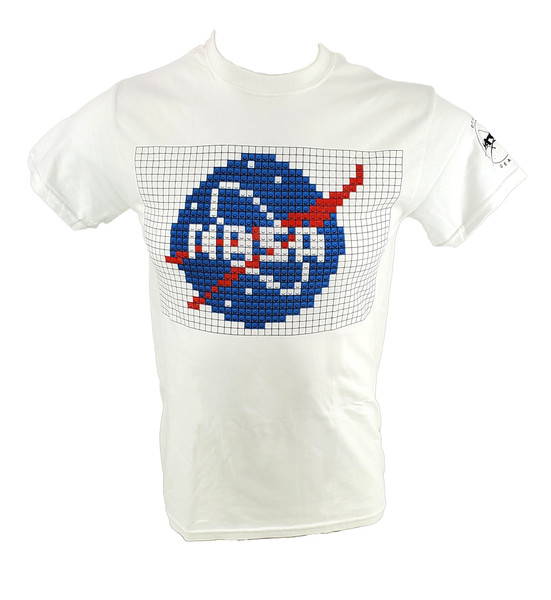 NASA Meatball Logo - Building Block Adult Tee Shirt