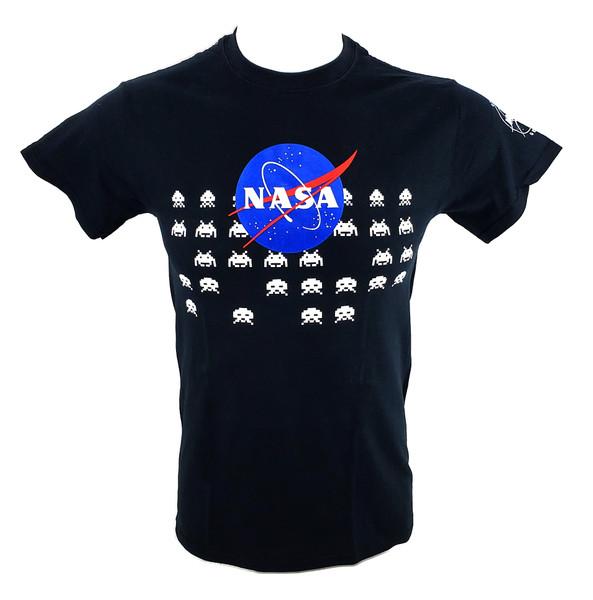 NASA Meatball Logo - Alien Invaders Adult Tee Shirt