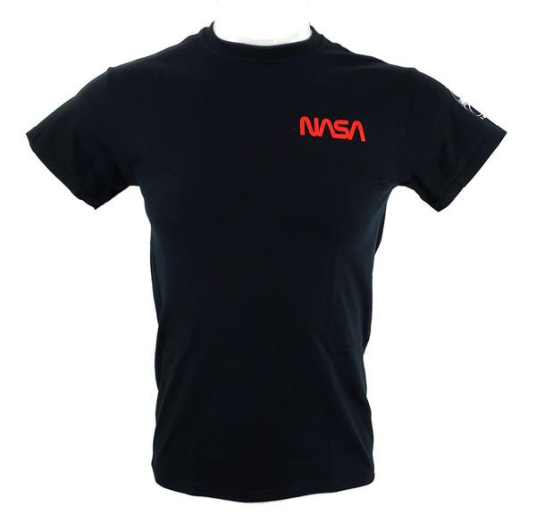 NASA Worm Logo - Small Logo Adult Tee