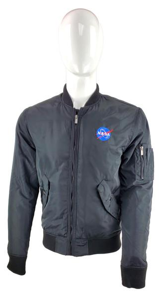 NASA Meatball Logo -  Wingover Ladies Bomber Jacket