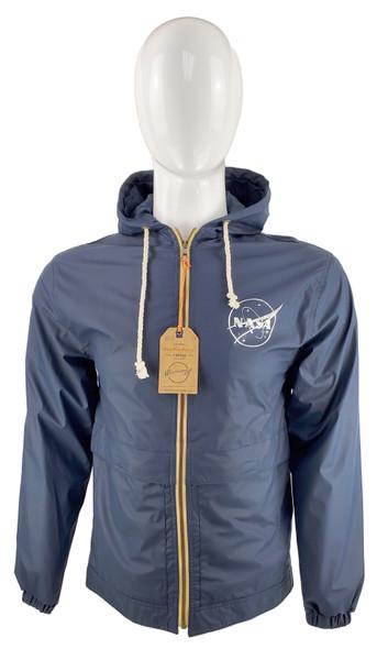 NASA Meatball Logo - Vintage Hooded Rain Jacket