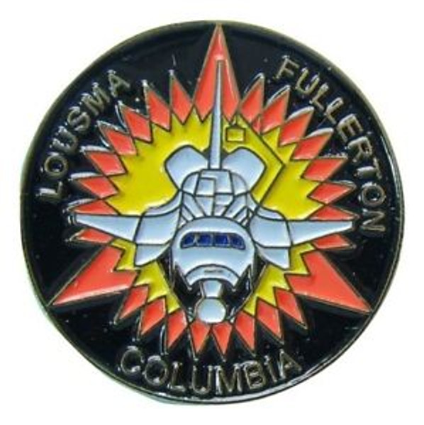 Space Shuttle Columbia  STS-3 Mission Pin