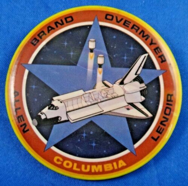Space Shuttle Columbia  STS-5 Mission Pin