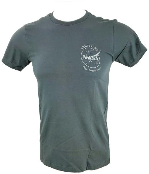 NASA Meatball Logo - Armstrong SR-71 Adult T-Shirt Version A