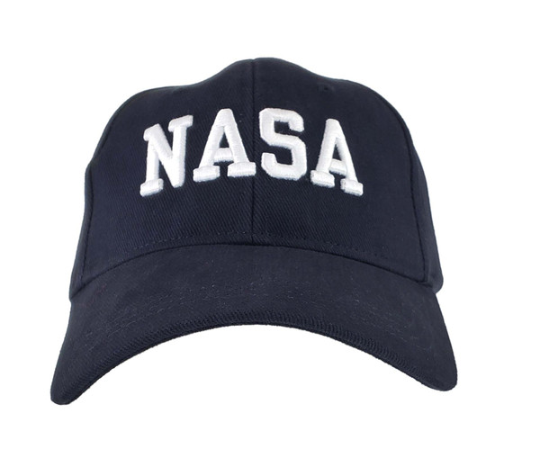 NASA Puffed Embroidered Hat Navy