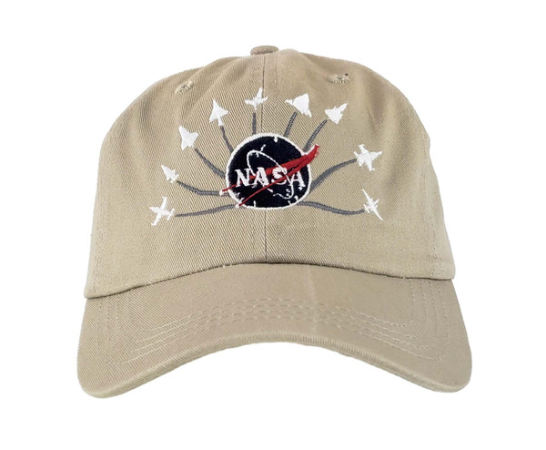 NASA Meatball Logo - Armstrong Planes Embroidered Hat