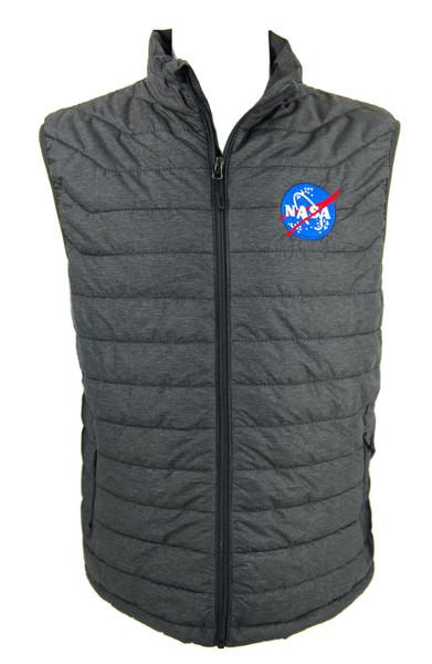 NASA Meatball Logo - Lightweight Puffer Vest