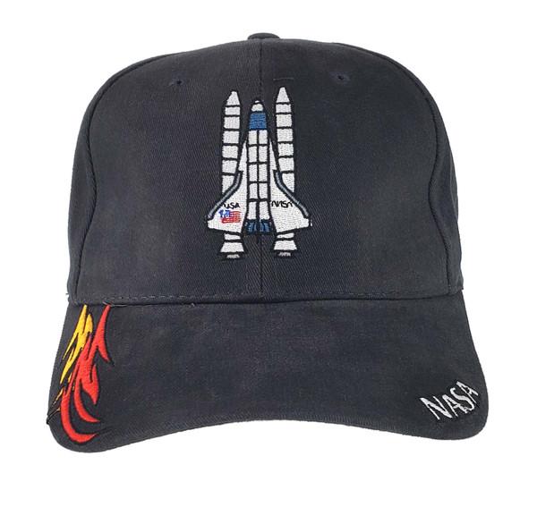 NASA Shuttle Flame Fabric Hat