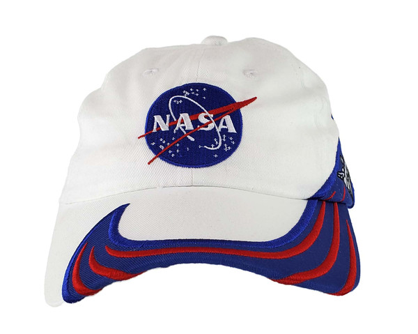NASA Meatball Logo - White and Blue Shuttle Hat