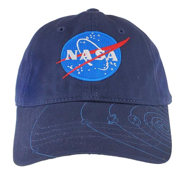 NASA Meatball Logo - Youth Planets Hat Navy