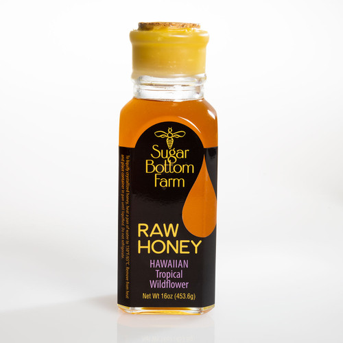 Hawaiian Tropical Wildflower Raw Honey by Sugar Bottom Farm