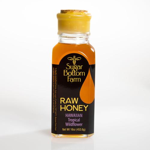 Raw Hawaiian Tropical Wildflower Honey by Sugar Bottom Farm