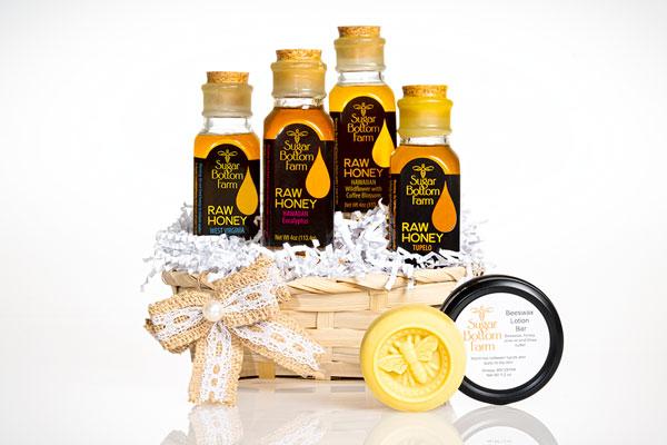 Raw Honey Products from Sugar Bottom Farm