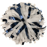1 Color Wet-Look with Metallic Flash Poms - Adult
