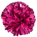 1 Color Plastic with Specialty Flash Pom Balls