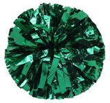 1 Color Metallic Stock Poms - Adult