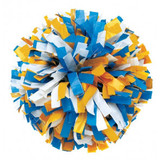 3 Color Plastic Poms - Adult