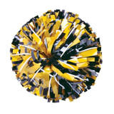 Metallic with 20% Metallic Glitter Poms - Youth